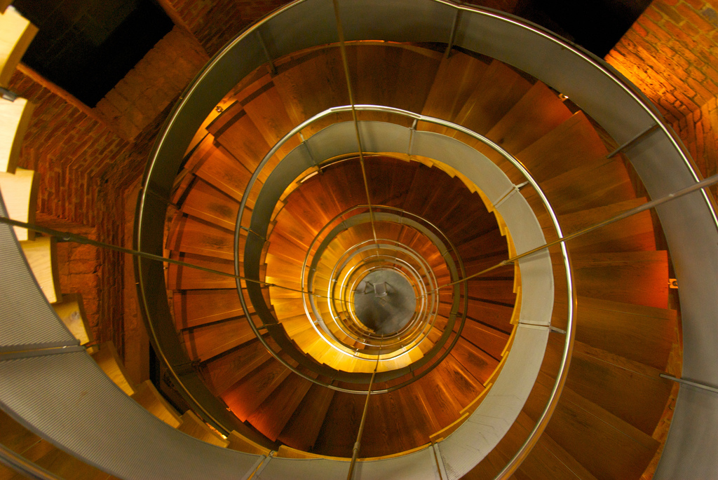 Lighthouse Glasgow Spiral Staircase