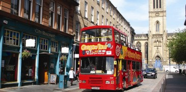Hop-On Hop-Off bus tour Glasgow
